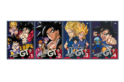 dragon ball gt individual dvd