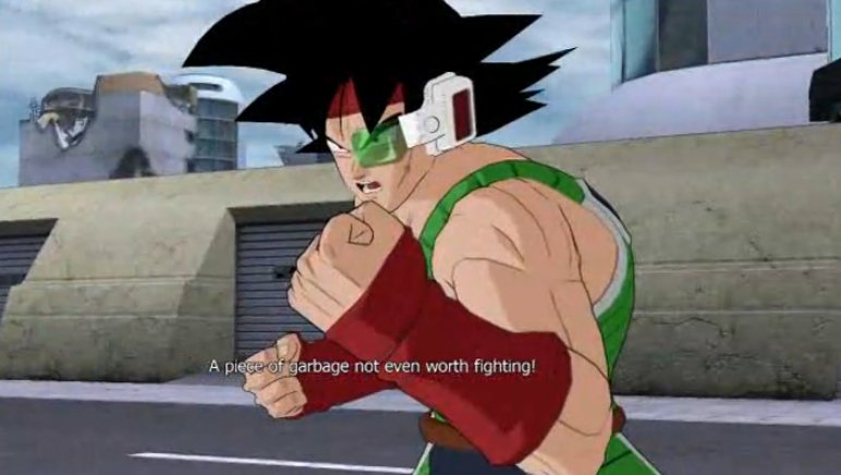 Dragon Ball Raging Blast Bardock