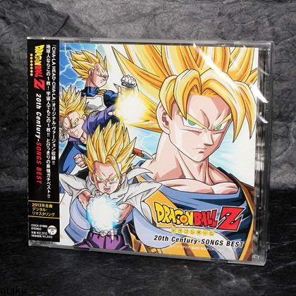 Dragon Ball Z Century-SONGS BEST