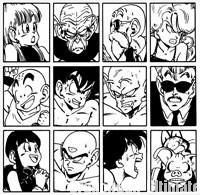 Les personnages principaux de l'Arc 23ème Tenka Ichi Budōkai