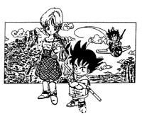Premières ébauches de Dragon Ball