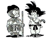 Le Gokū originel et celui de Dragon Ball