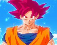 on Gokū Super Saiyan God