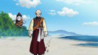 Chaozu et Ten Shin Han au début de l'Arc