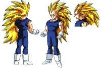 Character Design de Vegeta SS3