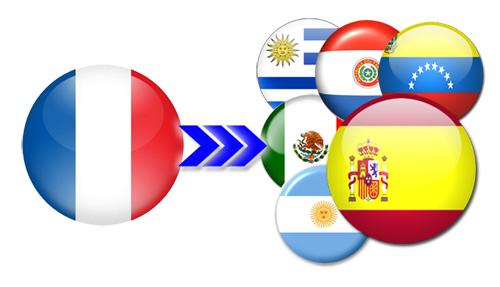 Dragon Ball Latino Flag