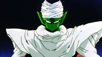 Piccolo arrive, indemne
