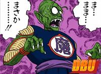 Piccolo Daimaō effrayé par le Mafūba