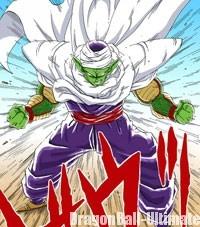 Piccolo après avoir fusionné avec Dieu