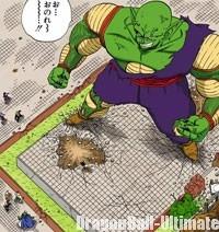 Piccolo devient géant face à Gokū