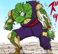 Piccolo se régénère face à Gokū