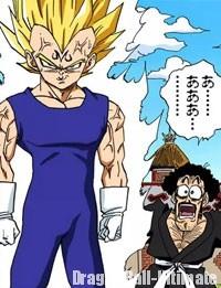 Majin Vegeta apparaît dans le manga