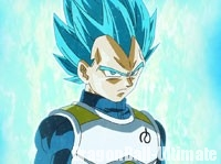 Le Super Saiyan Blue (SSGSS), Vegeta