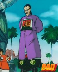 La robe de Tao Pai Pai dans le 3ème film Dragon Ball