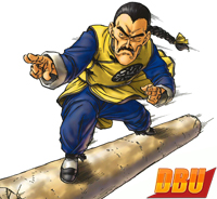 Tao Pai Pai avec un Chang Pao doré (Kanzenban vol. 06)