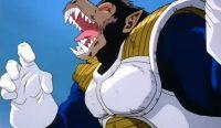 Vegeta en singe géant, dans l'anime