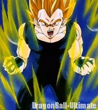 Vegeta Super Saiyan 2, dans l'anime