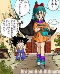Son Gokū et Bulma partent à l'aventure