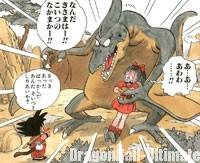 Le Ptéranodon enlève Bulma