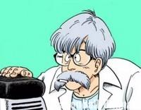 Le docteur Brief, dans le manga