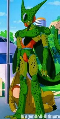 Cell première forme dans l'anime