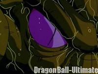 La forme cocon de Cell dans l'anime