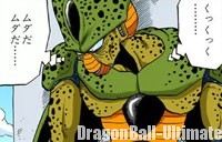 Cell se cache de Piccolo et Ten Shin Han