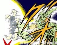 Cell exécute le Kame-Hame-Ha