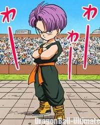 Trunks à ses 8 ans, dans le manga