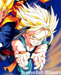 Une des coiffures alternatives de Trunks