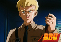 Le colonel Blue dans le film anniversaire Dragon Ball