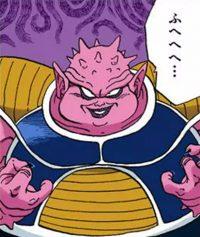 Dodoria, dans le manga Color Edition