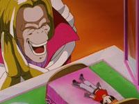 Dolltacky s'amuse avec sa poupée, Pan