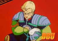 Le général Blue dans le 3ème film Dragon Ball