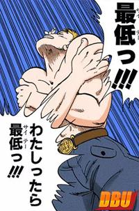 Le général Blue ne supporte pas d'avoir été blessé au visage