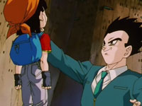 Gohan-Baby s'apprête à tuer Pan