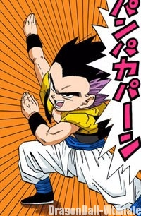 Gotenks, la fusion de Goten et Trunks