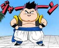 Gotenks gros, dans le manga Color Edition