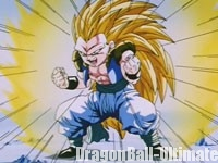 Gotenks Super Saiyan 3 dans l'anime