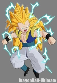 Gotenks Super Saiyan 3 dans Raging Blast