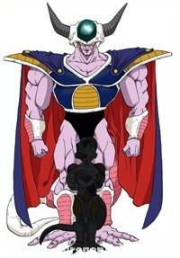 Le grand roi Cold dans le manga