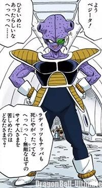Kiwi, dans le manga Color Edition
