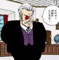 Le chef Red dans le manga