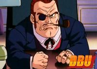 Le chef Red dans le film anniversaire Dragon Ball