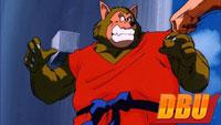 Le loup dans le neuvième film Dragon Ball Z