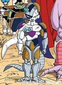 Mecha Freeza, dans le manga