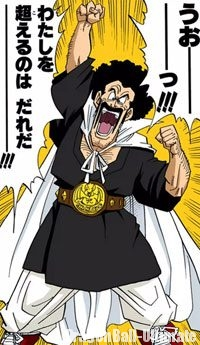Mr. Satan dans le manga Color Edition