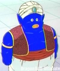 Mr. Popo recoloré en bleu sur 4Kids