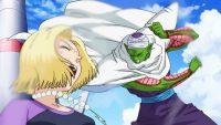 N°18 et Piccolo face à Beerus