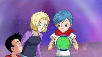 N°18 remarque la dernière Super Dragon Ball